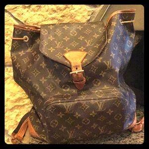 Vintage Louie Vuitton Nap Sack